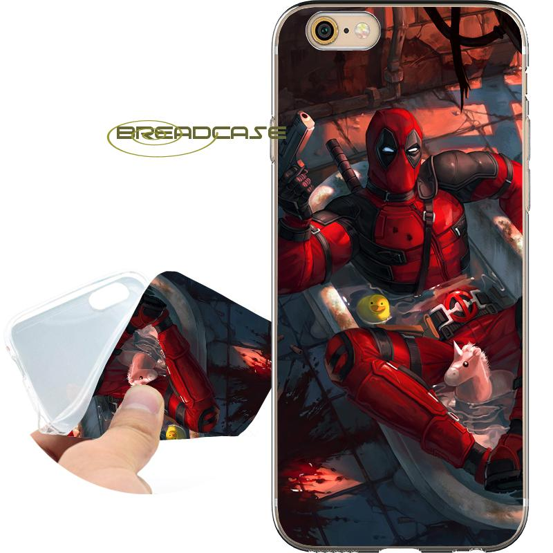 4a0091625c9 Personalizar Fundas De Movil FADL006 Deadpool Tumblr Capa Fundas De  Teléfono Para IPhone 10 X 7 8 6S 6 Plus 5S 5 SE 5C 4S 4 IPod Touch 6 5 Funda  De ...
