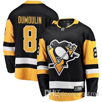 2018 2018 Nhl Hockey Jerseys Cheap Custom Men S Pittsburgh Penguins Brian  Dumoulin Fanatics Branded Black Home Breakaway Player Jersey Store Usa From  Astros ... 23a847bd5