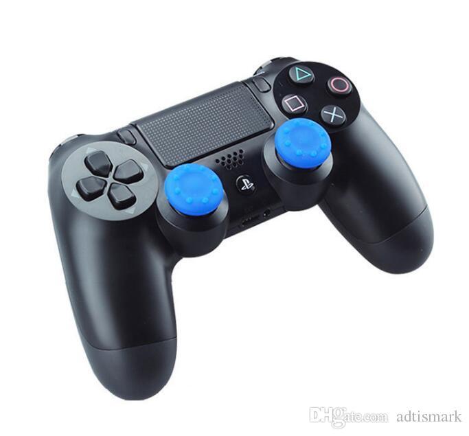 Оптовые мягкие противоскользящие силиконовые палочки для пальцев cap Thumb stick caps джойстик охватывает ручки обложка для PS3/PS4/XBOX ONE / Xbox 360 контроллеры