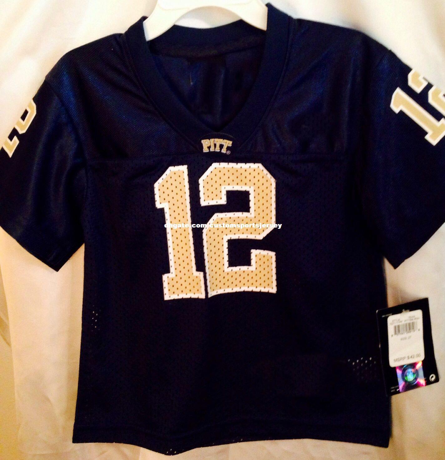 5fc5cab7 Cheap custom Pittsburgh Panthers College Football Jersey Sports Customized  Any name number Stitched Jersey XS-5XL