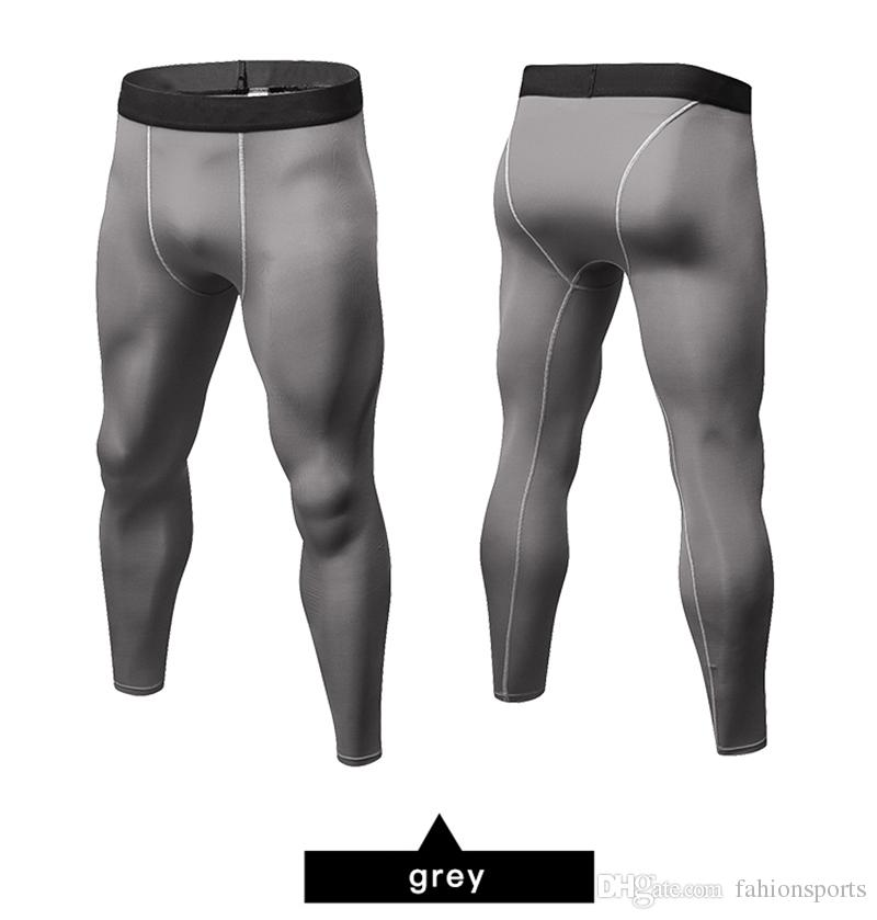 Men GYM Leggings New Sports Tights Compression Pants Jogger Pant alones Hombre Sport Trousers Sportswear Running Pants Men