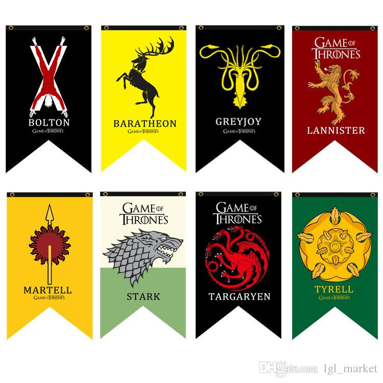 Best House Stark Banner Game Of Thrones House Wolf Tournament
