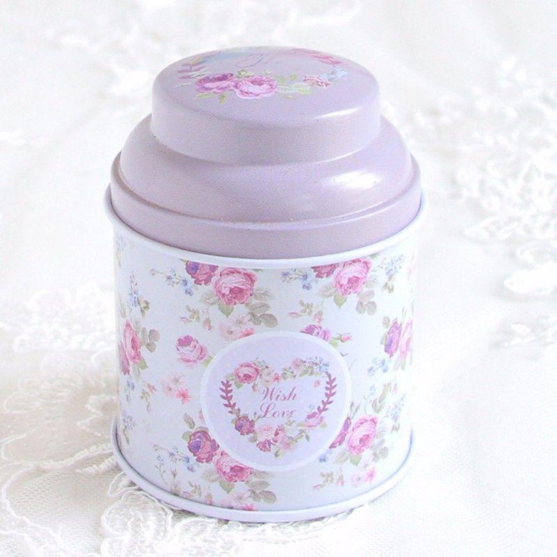 Europe Type Style Tea Caddy Organizer Box Candy Storage Box Wedding Favor Tin Box Food Organizer Container Household