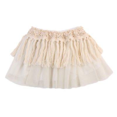 e0a3f279adaa Baby Girl Clothes 2018 Summer Girls Dresses Tassel Gauze Tutu Lace ...