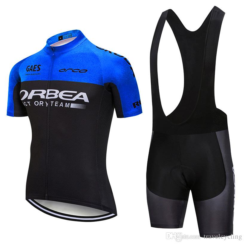 fdc53c08e ORBEA Pro Team Cycling Jersey Bib Shorts Sets New Arrivals MTB Bike Jersey  Bicycle Wear Breathable Cycling Gear Sportswear H0907 Vintage Cycling  Jerseys ...