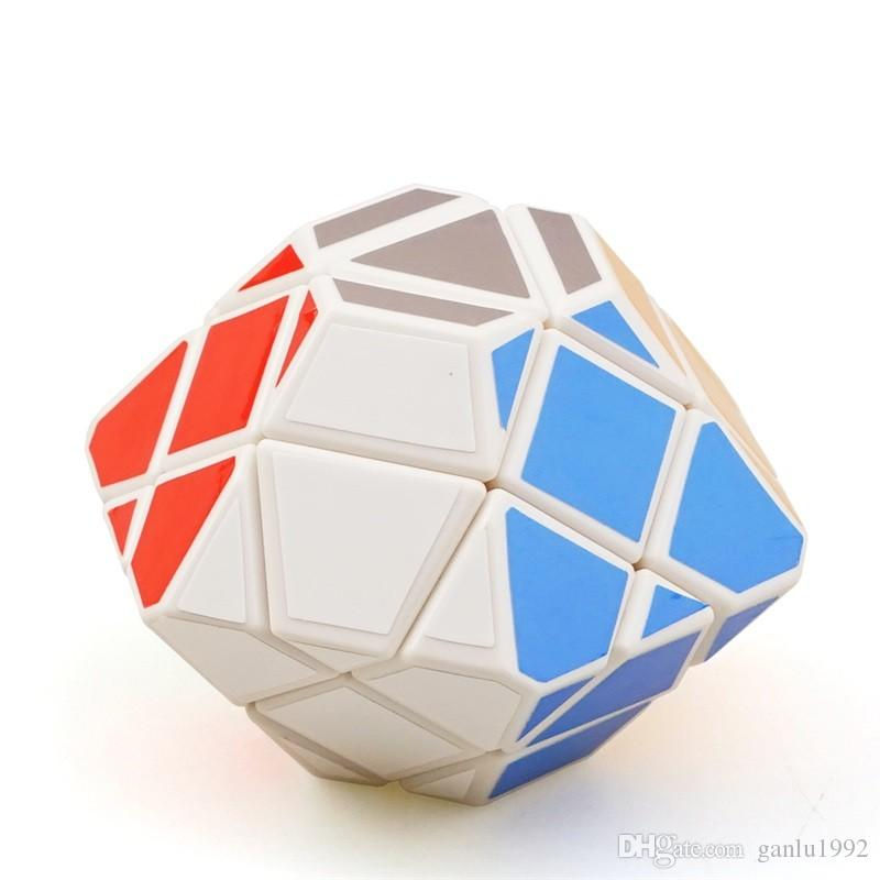Special Shaped Learning Education Magic Cube Children Intelligence Variant Toy Fun Flying Saucer UFO New Arrival 8 8qr W