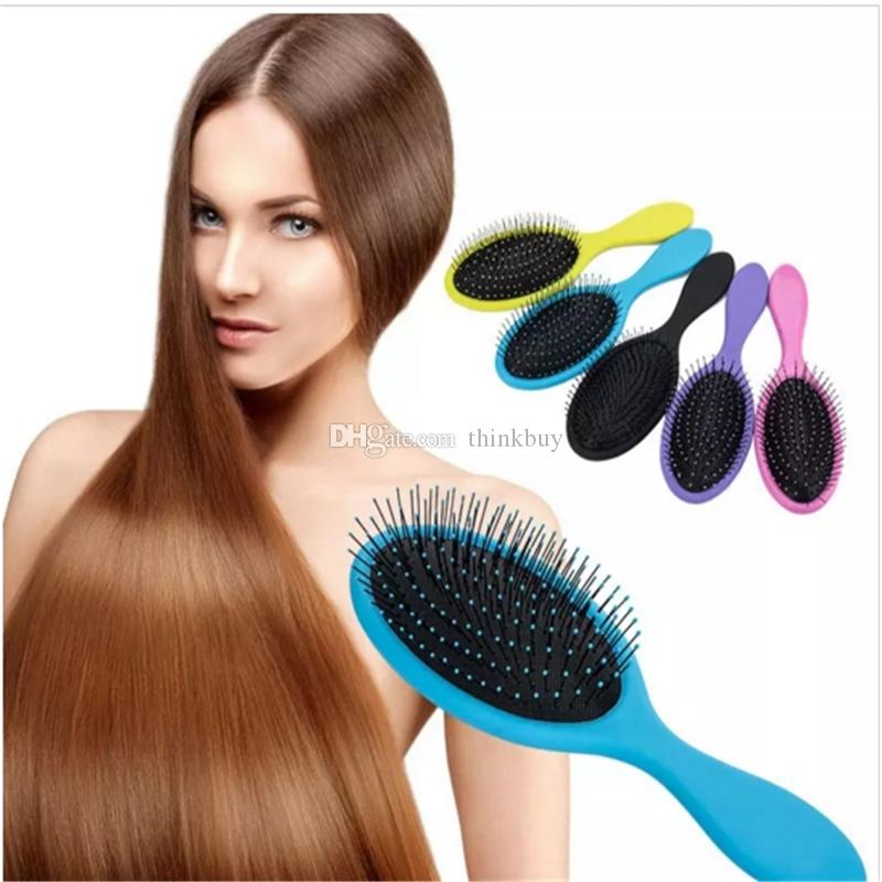 Hair Brush Detangler Hair Brush Massage Comb With Airbags Combs For Hair Shower Brush 5 Colors to Choose aa462-469 2018031705