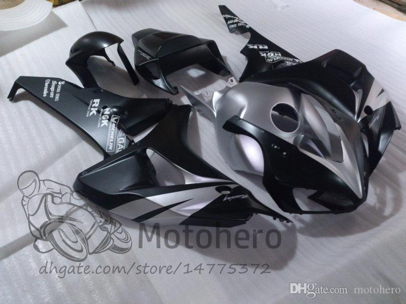Injection For HONDA CBR1000 RR Black SILVER CBR 1000RR 06 07 Kit CBR 1000 RR 2006 2007 CBR1000RR 06 07 100%Fit Fairing Bodywork Z578