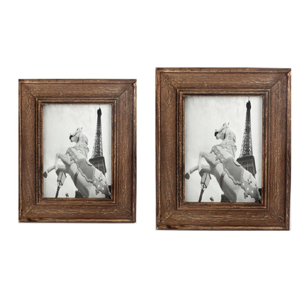 2018 Hot New Western Style Wooden Photo Frame Studio 6/7 Inch Photo ...