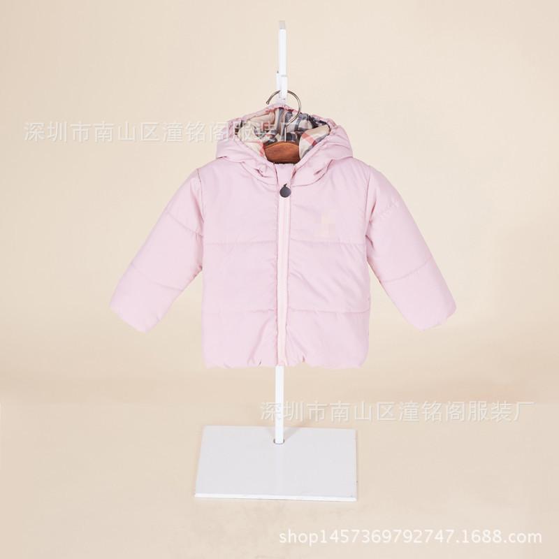 bca9053b05c3 2016 New Pattern Children s Garment Male Girl Cotton Loose Coat ...