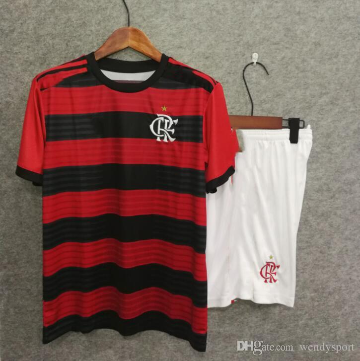 e9e23e5dc 18 19 Flamengo Home Kids Kit+socks Soccer Jersey Dele GUERRERO DIEGO  EDERSON MANCUELLO 18 19 Kids Set Children Football Shirt Soccer Jerseys  Football Shirts ...
