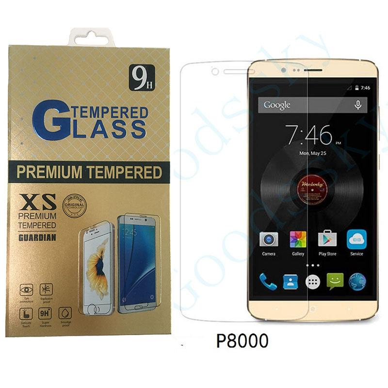 Elephone Tempered Glass 100% Official Original Screen Protector Film Phone Case for Elephone P8000 P9000 P9000 LITE 9H 2.5D
