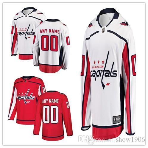 2da80cdce 2019 2018 Washington Capitals Hockey Jerseys Custom Men'S Women Youth  Personalized Name And Number Home White Black Kids Girls Hockey Jerseys  From Show1906, ...