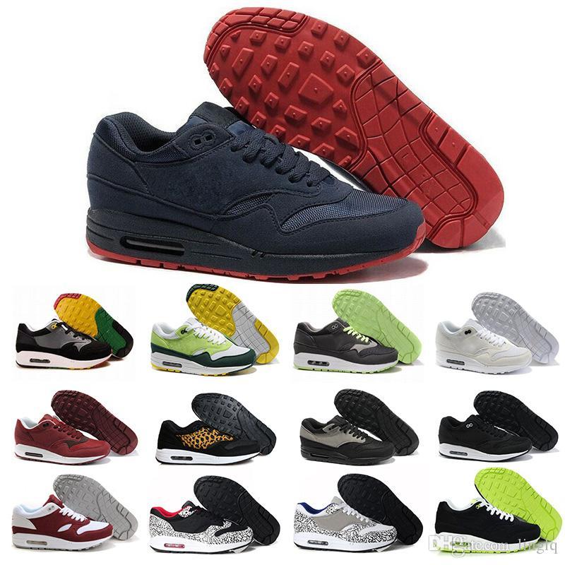 5f145cc799b7a Compre Nike Air Max Airmax 2018 Venta Caliente Unisex 87 1 Ultra Lotc Qs 87  Zapatos Casuales Para Hombre De Moda Barato Deportes Zapatillas Aaaa Mujeres  Con ...