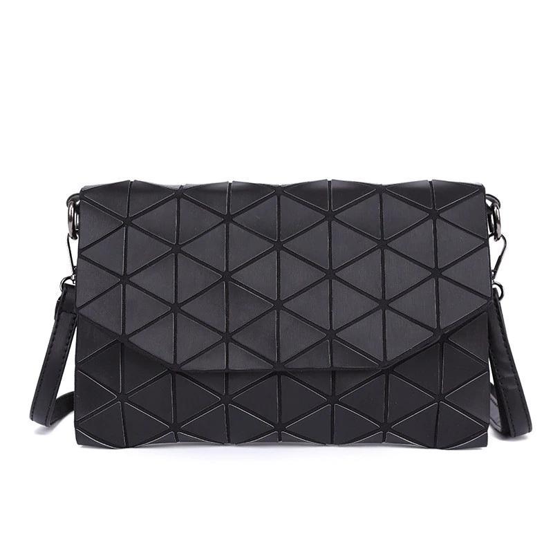 e9be3d6dad 2018 New Matte Designer Women Evening Bags Shoulder Bag Girls Flap Handbag  Fashion Geometric Plaid Casual Clutch Messenger Bags Cheap Designer Handbags  ...