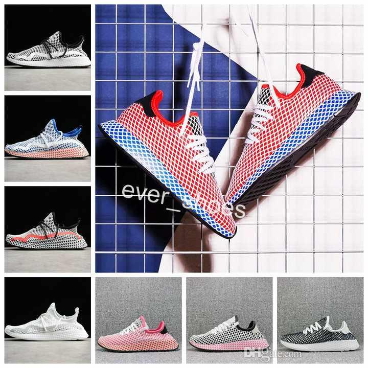 103bfc29064ee 2018 New Deerupt Runner Shoes Pharrell Williams Stan Smith Tennis Hu  Designer Mesh Running Cq2624 Casual Women Mens Chaussures Sneakers Ladies  Running Shoes ...