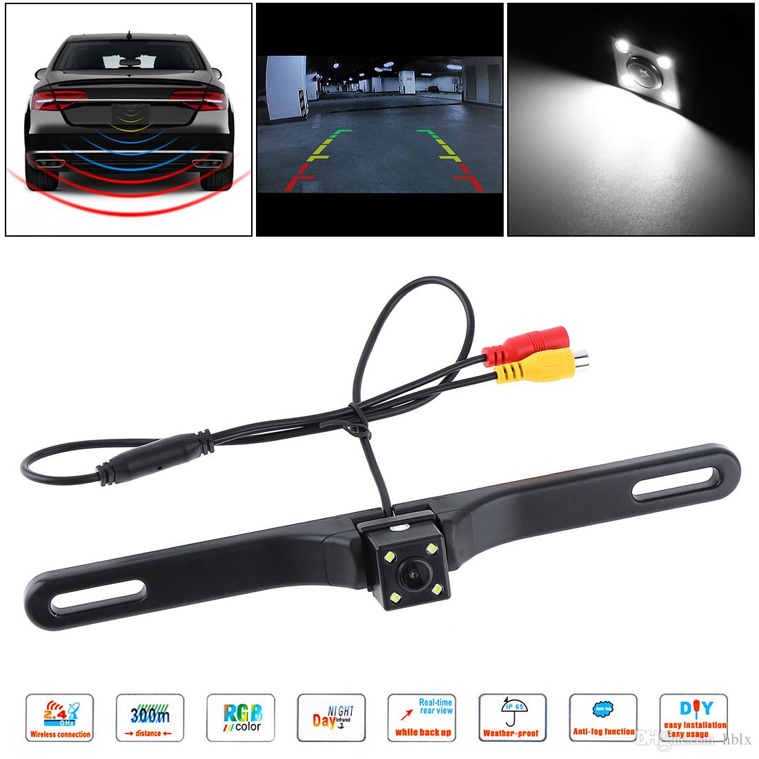 170° Cmos Car Rear View Reverse Backup Night Reversing Parking Back Up Camera Car Video