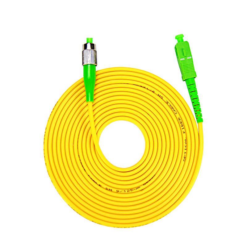 SC APC To FC 9 125 Singlemode Fiber Patch Cable 3M Jumper Microns Optic Fibres Optical Connectors From Cigirat 4065