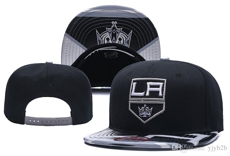Compre 2018 New Los Angeles Kings Hockey Snapback Hats Logo Del Equipo  Bordado Gorras Deportivas Hockey Sobre Hielo Huesos De Béisbol Ajustables  Con Visera ... e084b813f5b