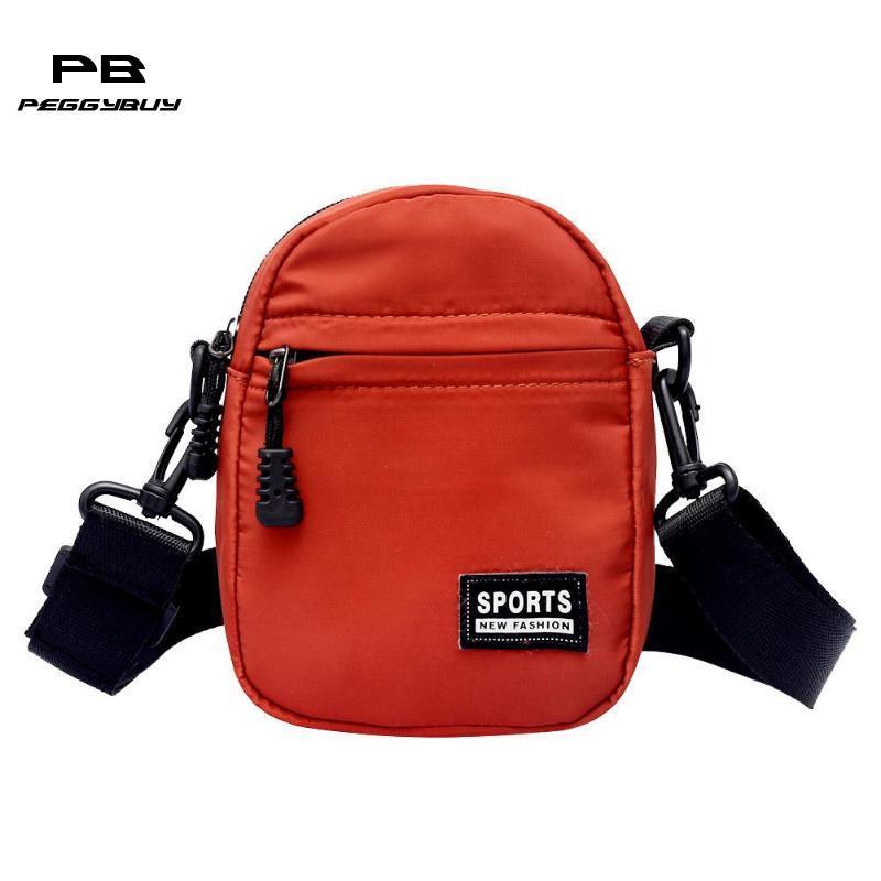 3b613127e6403f Men/Women Messenger Bags Nylon Mini Crossbody Bag Unisex Shoulder Bag  Fashion Small Handbags Casual Pack For Teenage Girls Boys Over The Shoulder  Bags ...