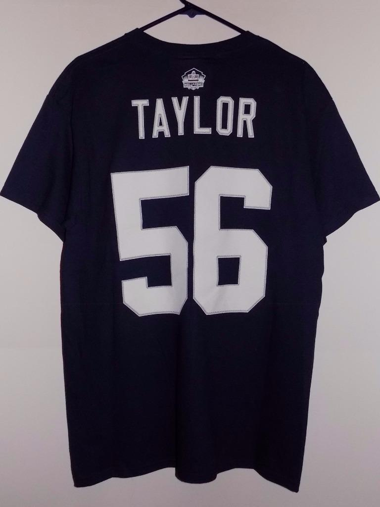 t shirt large Lawrence Taylor eligible receiver Hall of Fame NWT 2018 High quality custom printed tshirt hip hop funny tee mens tee shirts