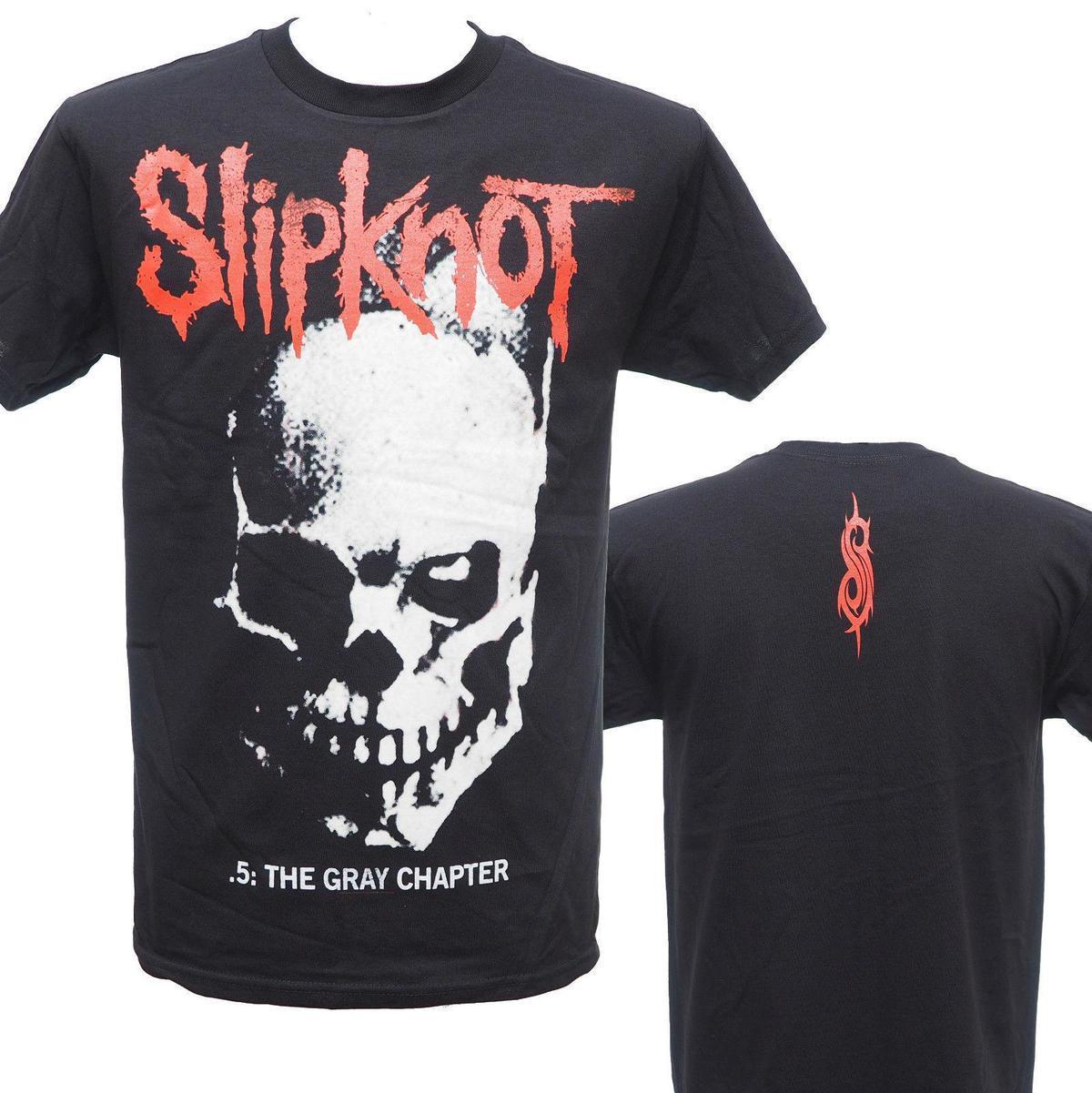 SLIPKNOT NEW ALBUM 2014 SKULL & TRIBAL Official T-Shirt New 2XL ONLY