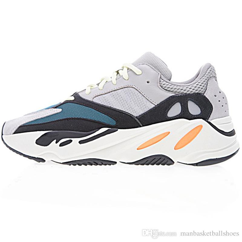 Shoes Solid Kanye 700 Grey Orange Og Running Shoe Wholesale White nN08wm