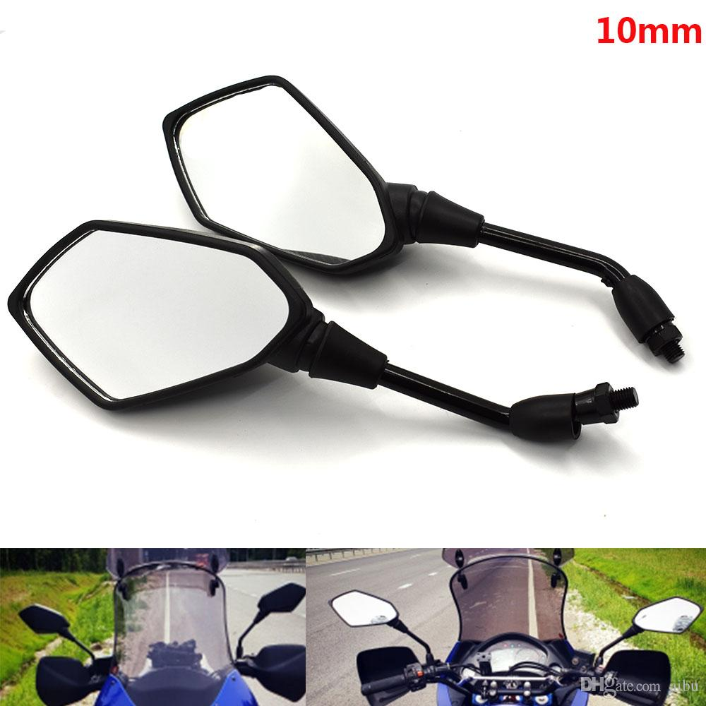 For motorbike scooter mirror unviersal for Vespa piaggio hyosung accesorios  moto mirrors motorcycle accessories rearview mirror
