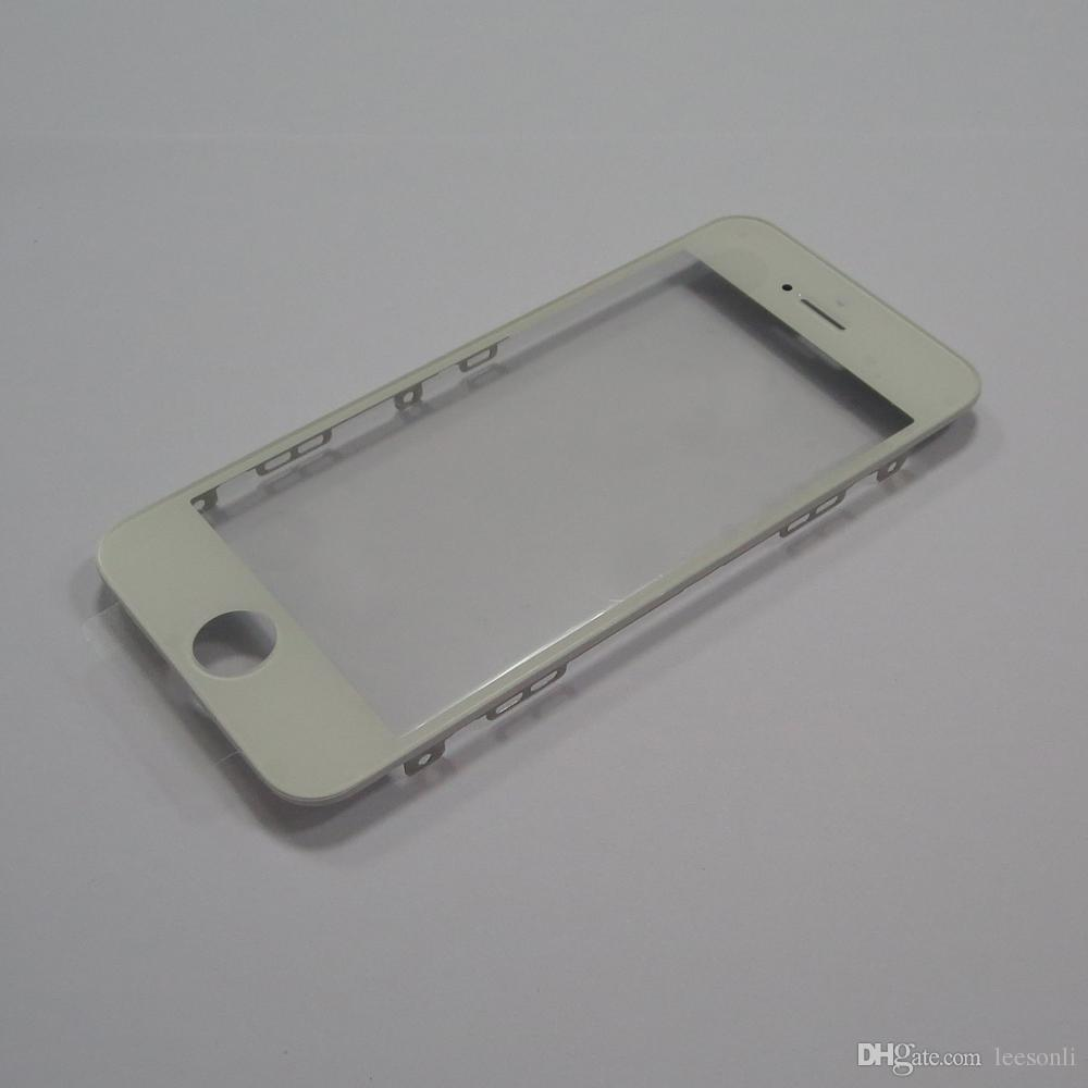 New For iPhone 5/5s/5c Front Glass Touch Screen Outer Panel Lens + Bezel Frame Repair Replacement Part
