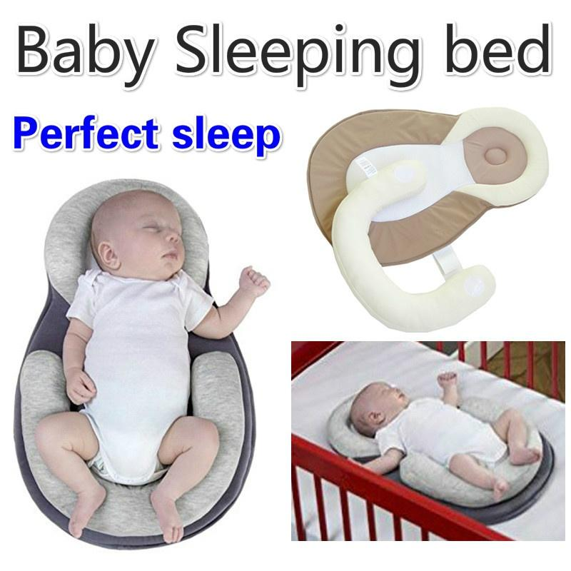 Baby Pillow New Born Infant Sleep Positioner Prevent Flat