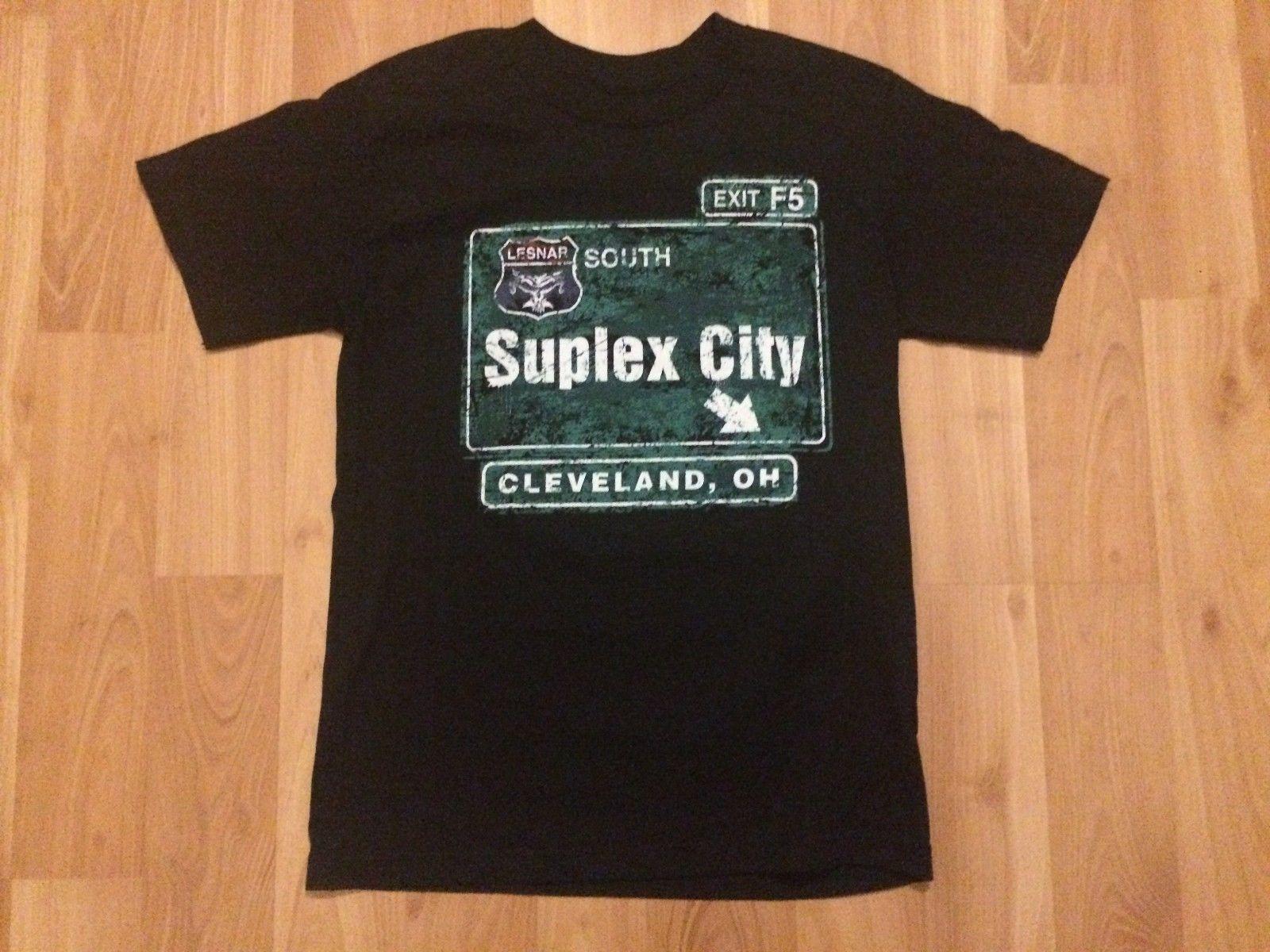 Lesnar Wew Acquista Brock City Suplex Cleveland T Small Mens Shirt xWdCreoB