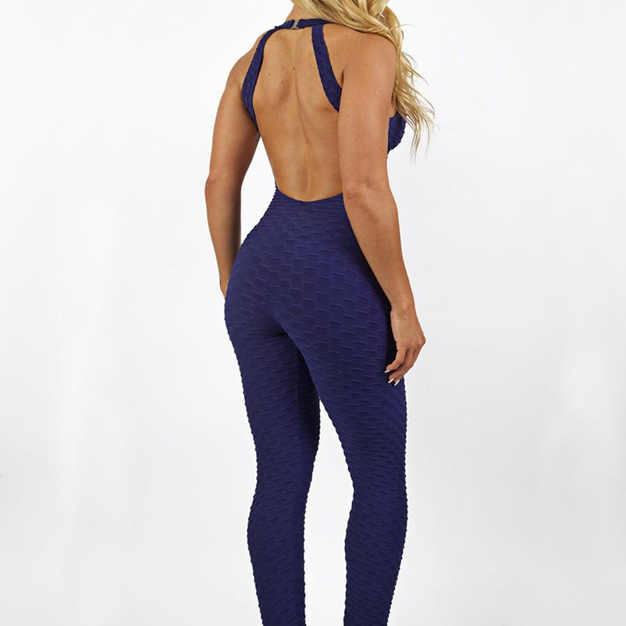 2018 Fitness Clothing Womens One Pieces Sports Suit Set Workout Gym