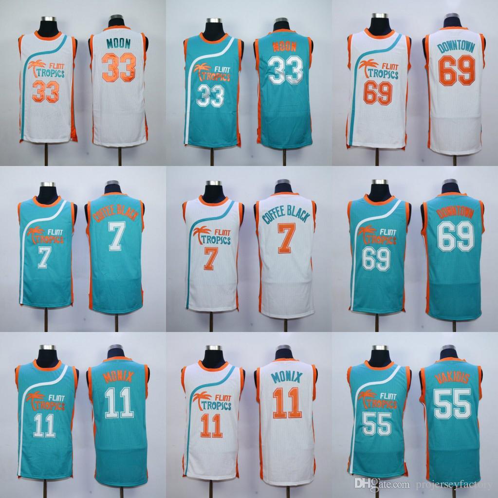 c272380d051 ... shop basketball jerseys online mens semi pro movie flint tropics 33  jackie moon jersey 7 coffee