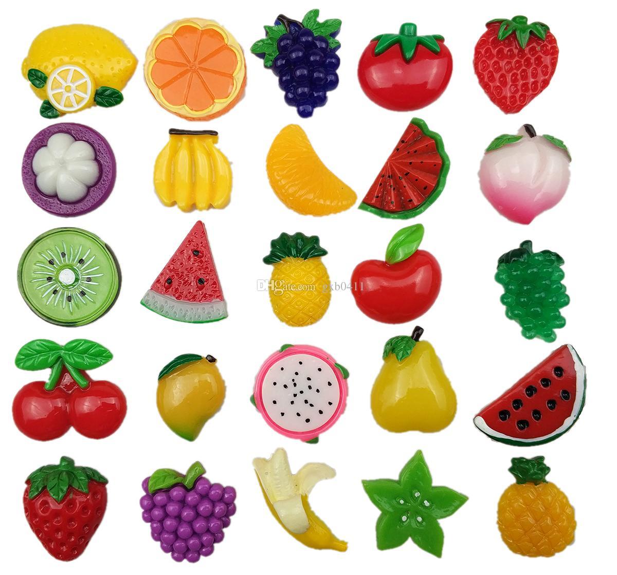 الفاكهة الإبداعية قوي النيوديميوم مغناطيس الثلاجة للثلاجة المنزل الديكور مغناطيس صور مكتب السبورة السبورة رسالة