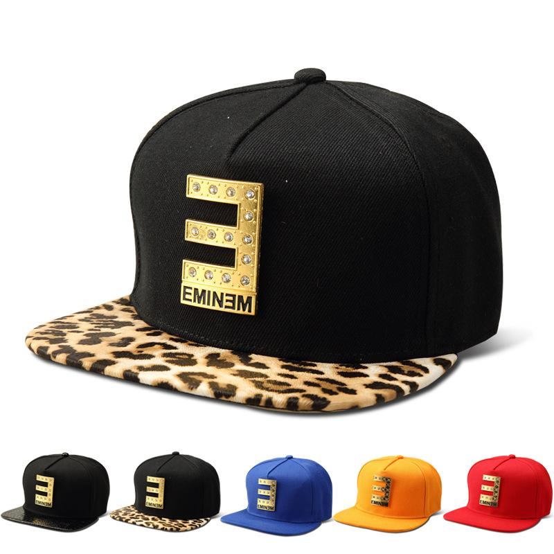 47b0d0258c7 Wholesale Cotton Diamond E EMINEM Snapback Hats Men Women Gorras ...