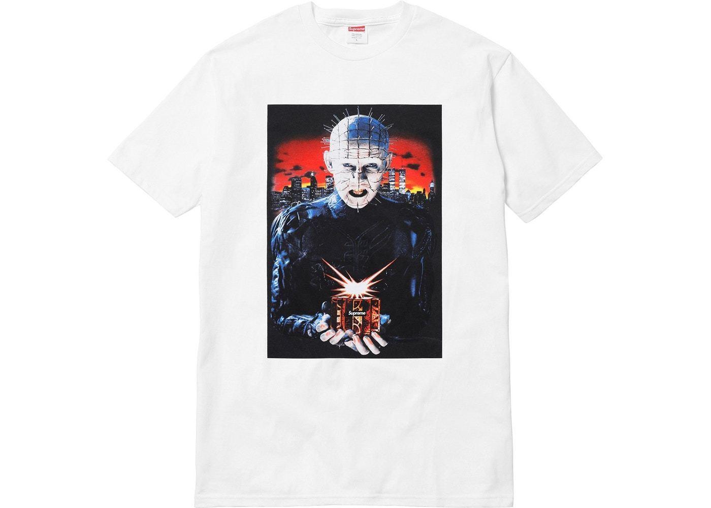 9ea5dd5df Men O Neck High Quality Hot Sell Hellraiser Hell On Earth Tee T Shirt White  Size Medium T Shirt Online T Shirt Designer From Onecktshirt, $15.72|  DHgate.Com