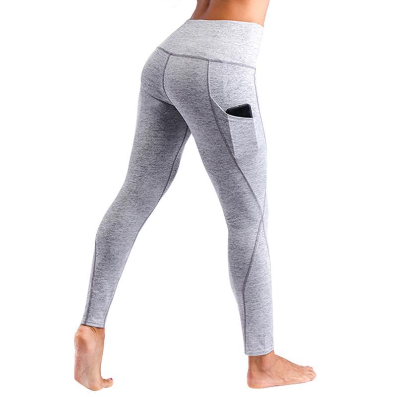 dc05110d89 2019 High Waist High Waist Workout Leggings Women Pocket Push Up Women Pocket  Push Up Leggings Feminina Breathable Leggings From Lixlon08, $29.0 | DHgate.