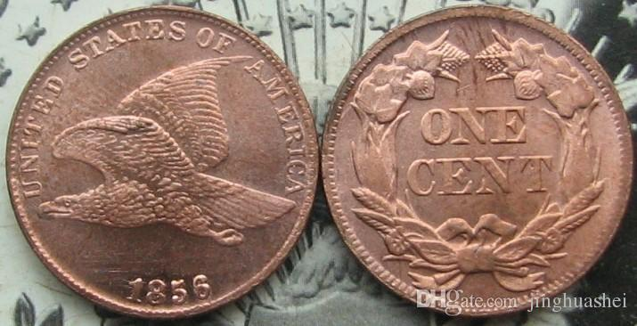 Großhandel Usa 1854 1858 Fliegender Adler Cent 1792 Halbzeit 1896 1