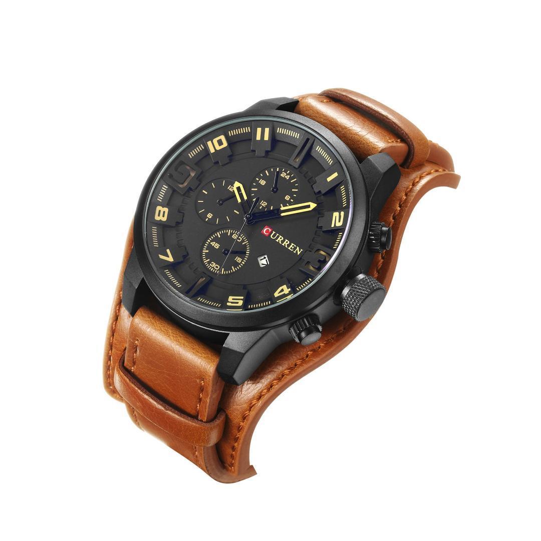 5a08f32f69a Curren Best Luxury Brand Quartz Men S Watches Complete Calendar Fashion  Sport Leather Man Wrist Watch Relogio Masculino Buy Wrist Watch Online  Online Wrist ...