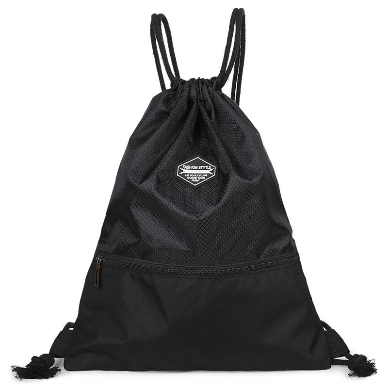 d0055bee3aaf 2019 Likros Drawstring Backpack String Bag Sports Waterproof Sackpack  Gymsack Gym Cinch Sack LK169 From Universe111