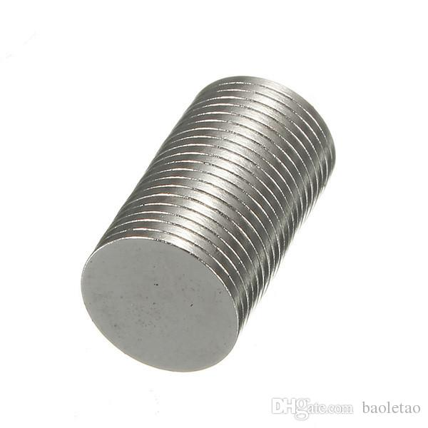 Strong 10x1mm N50 Disc Round Rare Earth Neodymium Magnets