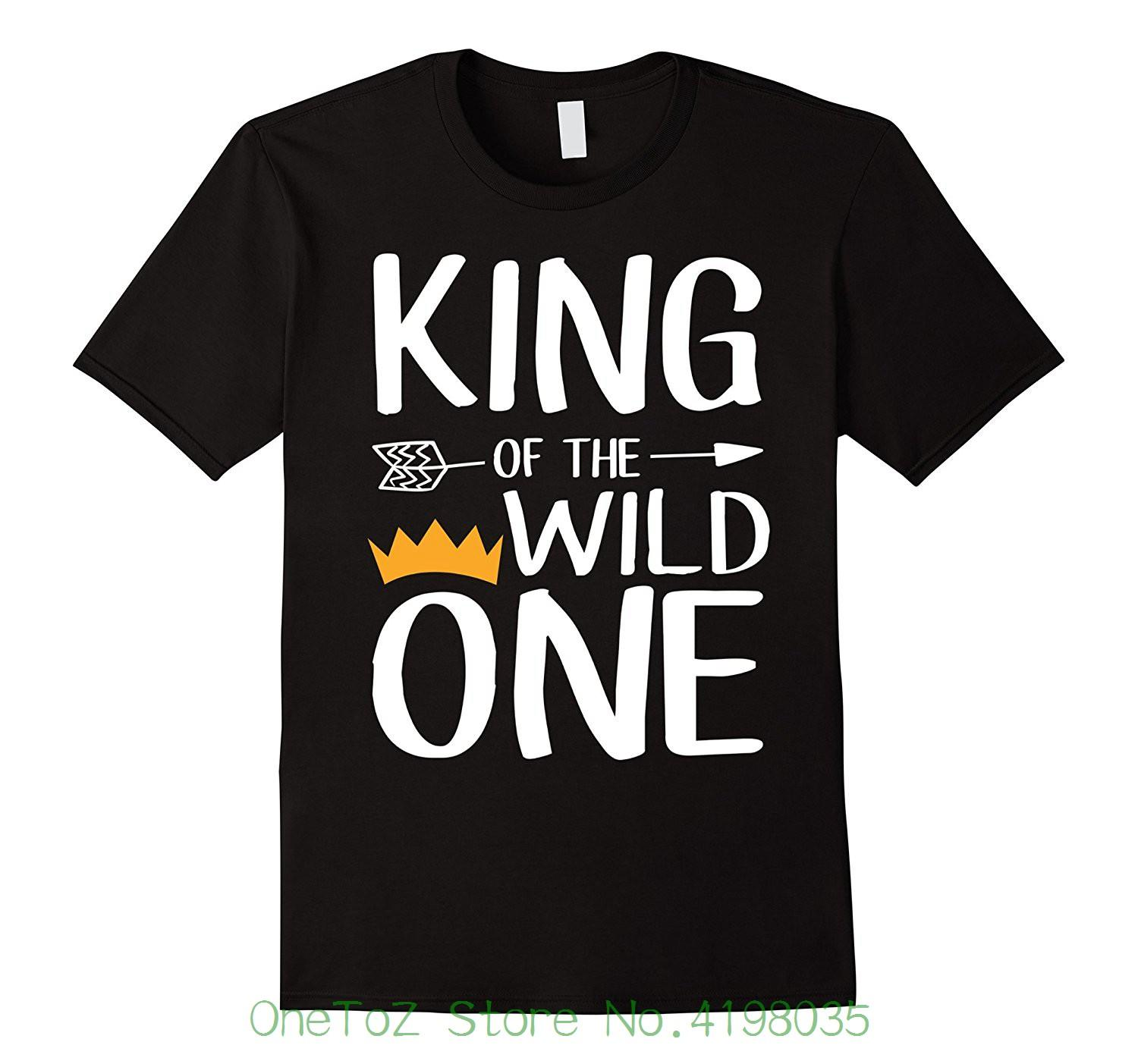 King Of The Wild One Of The Wild One Family Shirt Mens High Quality