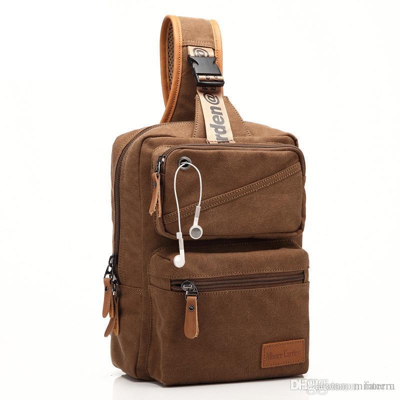 42d1d4242fd8 Wholesale New Backpack Men Europe Design Student Men S Travel Rugzak Bag  Canvas Backpack Women Chest One Shoulder Cross Body Bags Bols Cool Backpacks  Travel ...