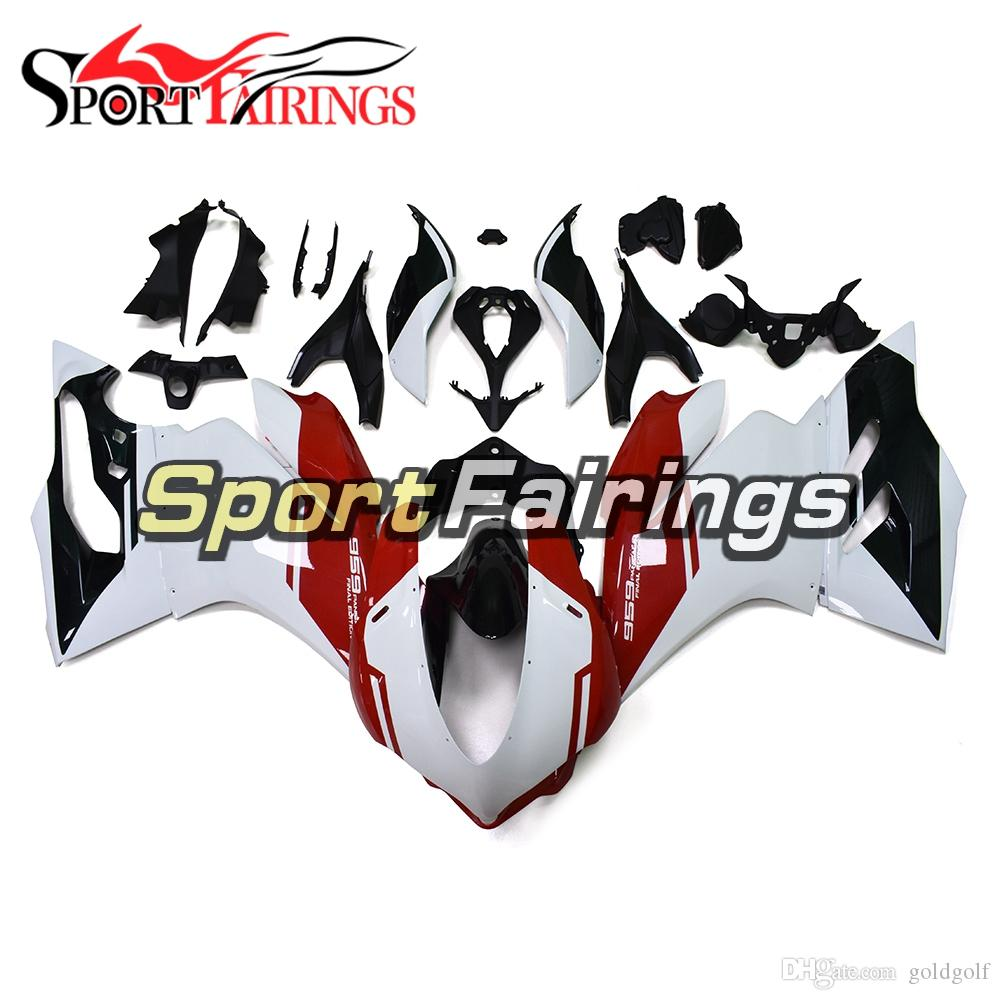 Injection Abs Plastic Motorcycle Full Fairing Kit For Ducati 959
