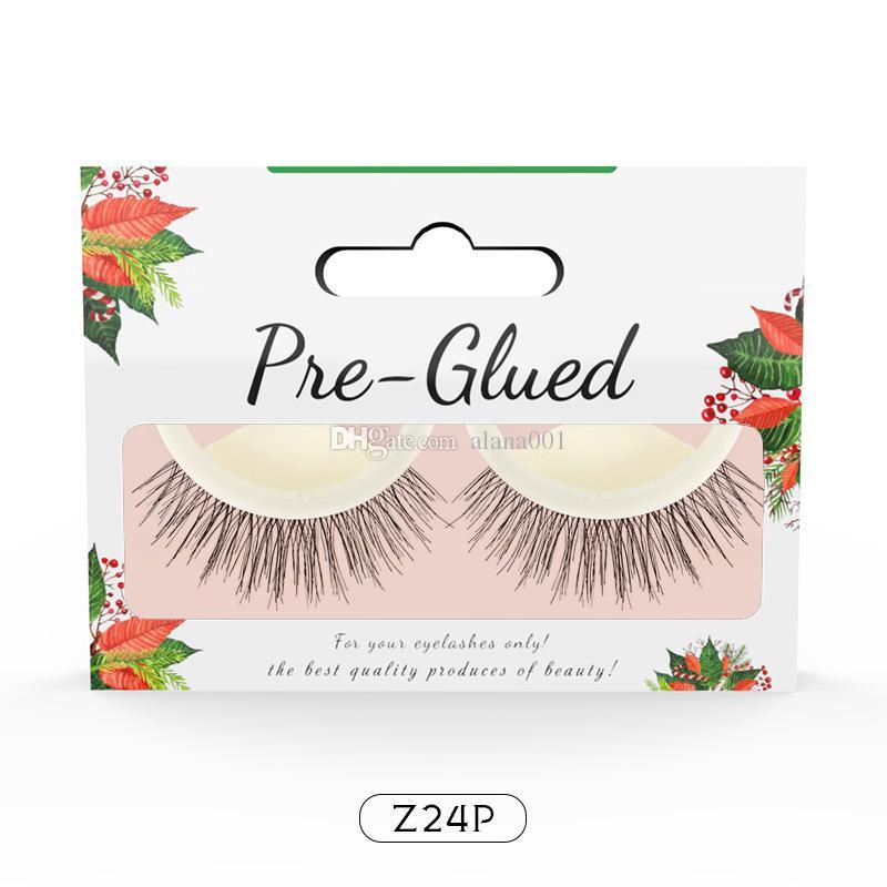 New Self Adhesive 3d Lashes 3d False Eyelashes Without Stimulation Self Adhesive Eyelashes Without Glue 12pcs By Epacket