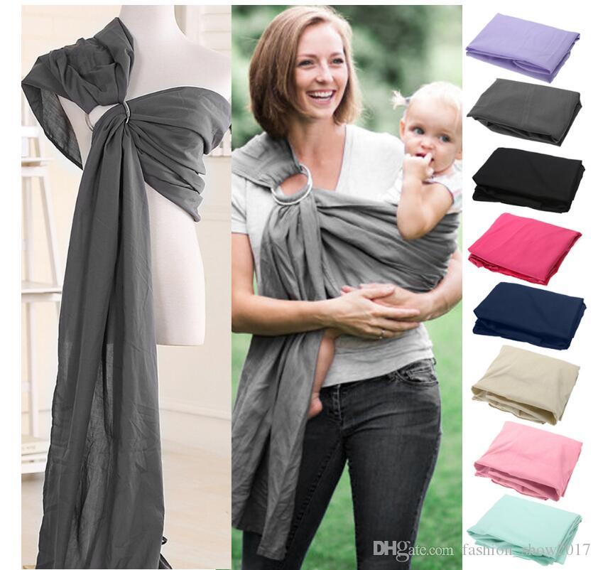 New Baby Carrier Sling Breathable Toddler Carrier Comfortable Breathable Baby Sling Kangaroo Cotton Stripe Baby Wrap Carrier
