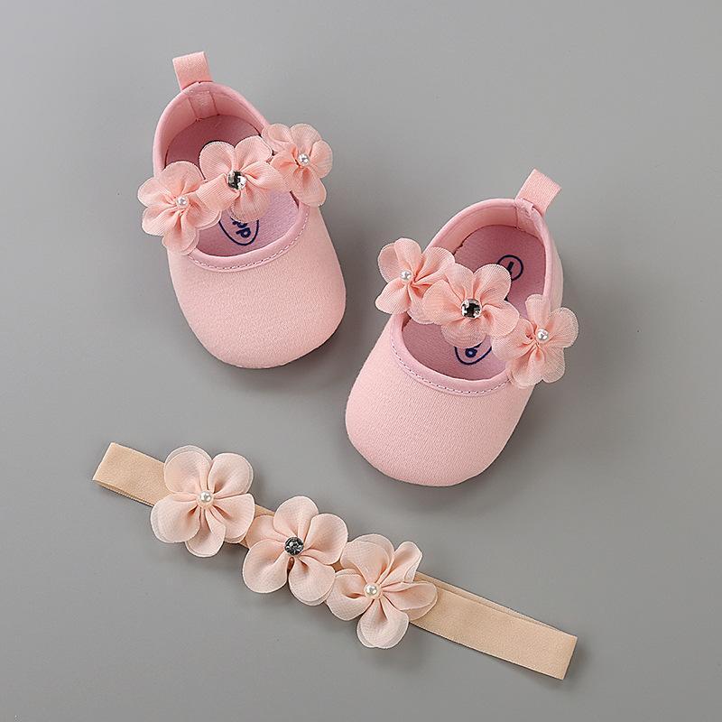 2018 Newborn Baby Girl Shoes For Party And Wedding Infant Moccasins