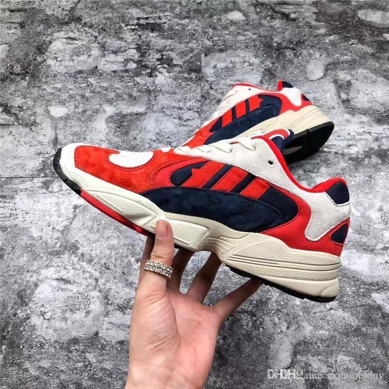 0c57dbf869 Spring Running Shoes Light Weight Cartoon Dragon Ball Z X Yung 1 Goku  Hombre Mujer Zapatillas Naranja Rojo Zapatillas Deportivas Kanye West  Auténtico Con ...