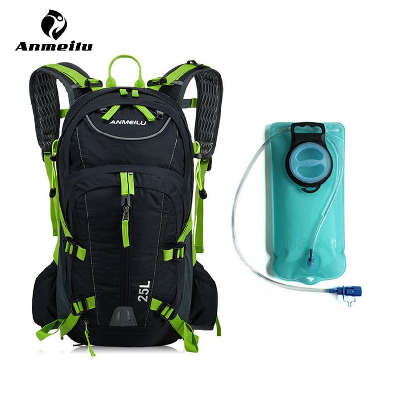 65d1fb2f3ce ANMEILU 2L Sport Water Bag Backpack Waterproof Nylon Cycling ...