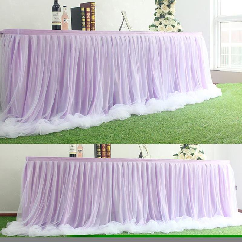 15CM*100Yards TULLE Roll Wedding Decoration Spool Craft DIY Table Skirt Baby Shower Birthday Party Decor Supplies